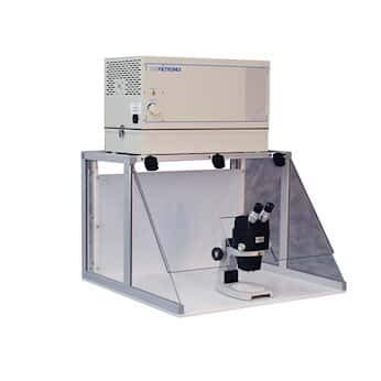 Airfiltronix Fume Hood with Microscope Cut-Out, 220 VAC