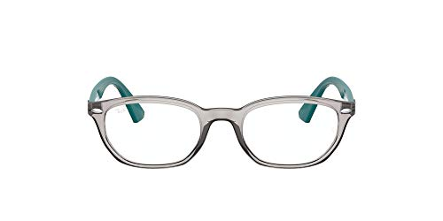 Ray-Ban 0ry1599 Gafas, Transparent Grey, 46 Unisex