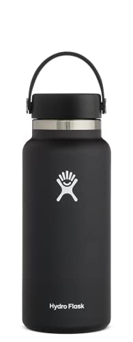 Hydro Flask Water Bottle - Stainless Steel & Vacuum Insulated - Wide...