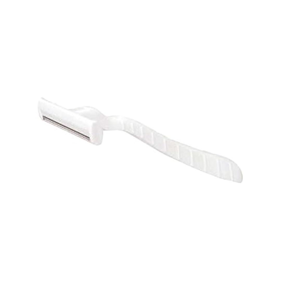 デンマーク語黙開いたホテル業務用シックカミソリ2枚刃(白)マット袋入り 30本
