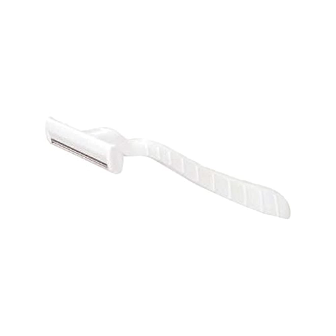 グラムフロンティア工業化するホテル業務用シックカミソリ2枚刃(白)マット袋入り 30本