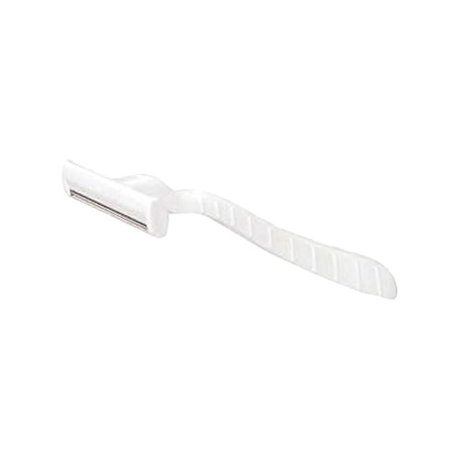 入札クラシック論争の的ホテル業務用シックカミソリ2枚刃(白)マット袋入り 10本
