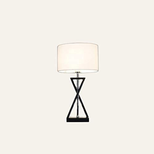 Nordic Kreative Minimalistische Schlafzimmer Lampe Nachttischlampe Eisen Tuch Abdeckung Wohnzimmer Studie Europäischen Romantische Dekorative Lichter, BOSS LV