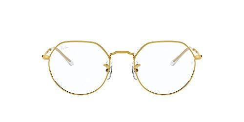 Ray-Ban 0rx6465 Gafas, Legend Gold, 49 Unisex