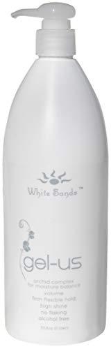 White Sands Gel Us Hair Gel Alcohol Free 33.8oz