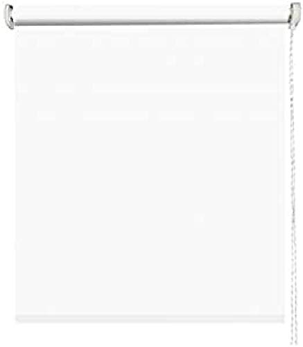 MADECOSTORE - Estor Enrollable Opaco Easy Roll Tejido Liso Gris Claro –...