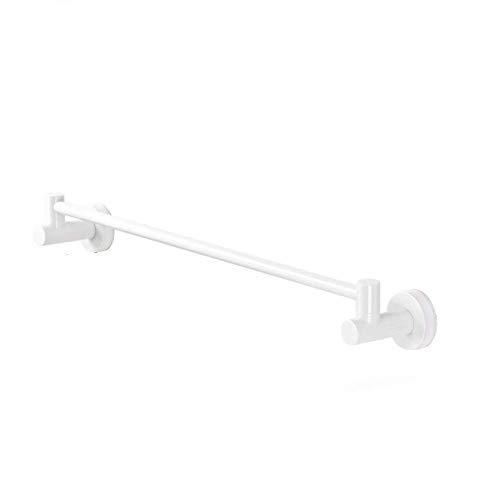 Estante de ducha, Toallero de baño, Estante de baño Estante de ducha Instalación de pared de ducha Esquina Mesa de cocina Colgador Ventosa Fuerte Tipo 2 Modelos (Tamaño: Un solo polo-673 * 95 * 82