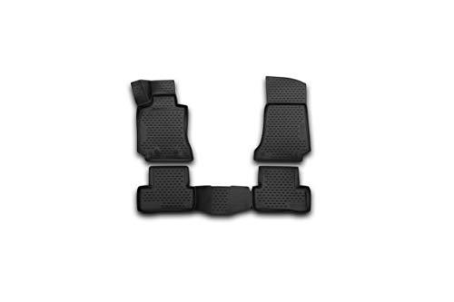 Element EXP.NLC.34.32.210k - Alfombrillas de Goma Antideslizantes para Mercedes Benz Clase C W205, sedán - Año: 14-20, Color Negro