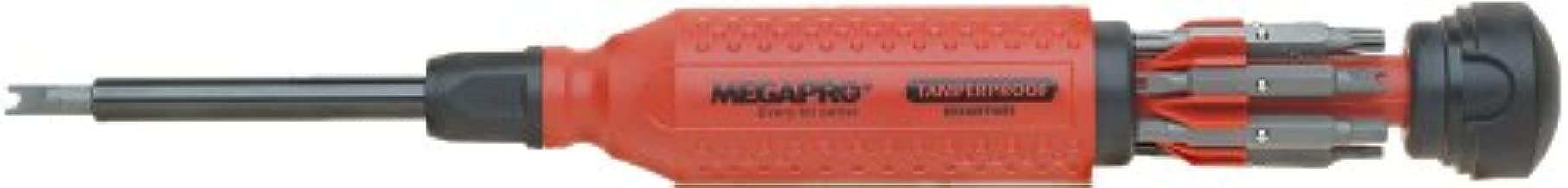 Megapro 151TP 15-In-1 Tamperproof Driver, Red/Black