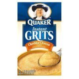 Quaker Instant Grits Real Cheddar Cheese (Pack of 6)