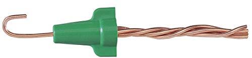 Ideal Industries 30–092Polypropylen Erdung Wire Connector grün 14–10AWG 100Pro Box Flügelmutter Greenie 92