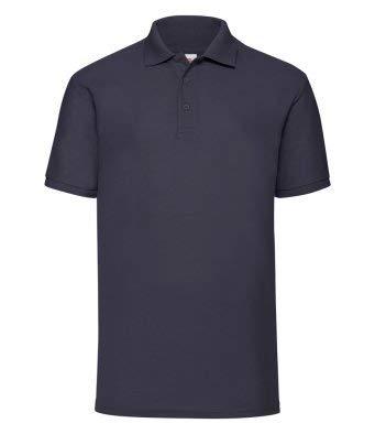 Milano Camisetas Polo Personalizado con texto personalizado bordado en el pecho izquierdo x 5 unidades