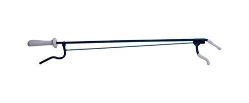 Pflegehome24® Greifhilfe Handgreifer Greifzange Metall, ca. 100cm schwarz