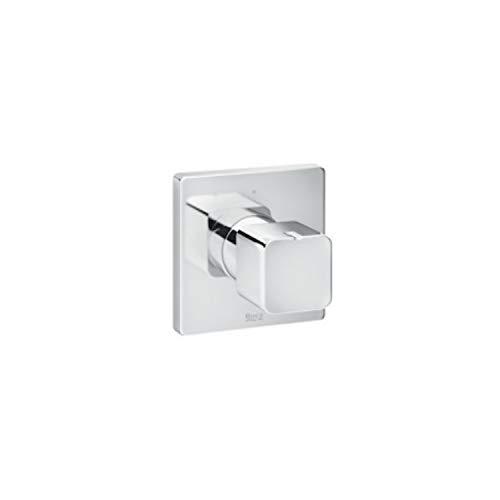 Llave de paso empotrada Square, 7 x 8 x 8 centímetros, color cromado (Referencia: A5A094AC00)
