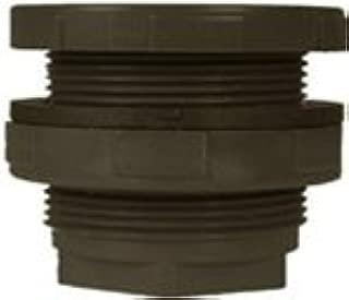 Gray Spears 8171 Series PVC Bulkhead Tank Adapter Schedule 80 1 Socket x NPT Female