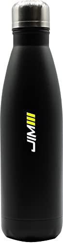 JIM Fitness, Borraccia termica Black 500ml Gioventù unisex, 500 ml