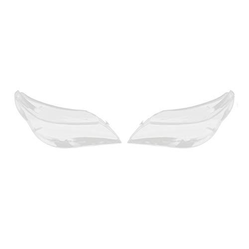 Auto Objektiv Shell Auto-Scheinwerfer-Objektiv Glas Lampcover Abdeckung Lampshade Helles Shell Produkt Gepasst Fit For BMW E60 E61 2003-2010 Rechts Und Von Links Auto-Scheinwerfer Objektivabdeckung Au