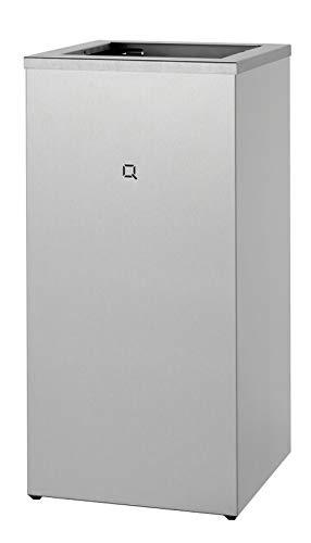 All Care 6910 Qbic-line Edelstahl offen Abfallbehälter, 85 Liter