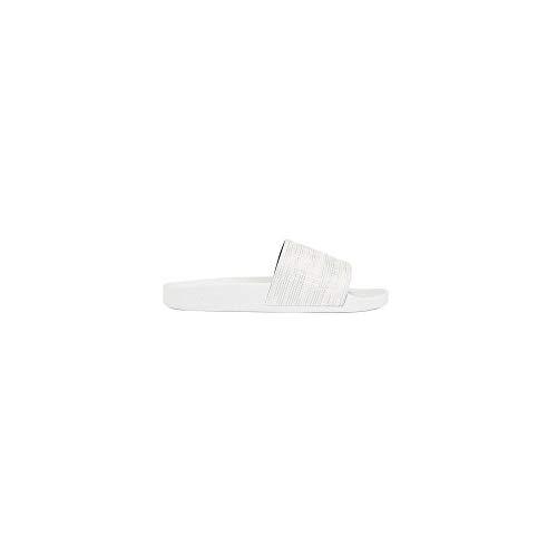 Flipflops/Sandalen/Badeschuhe aus Gummi Solar_Slid_Logo 10208293 01 (44, Silver (040))