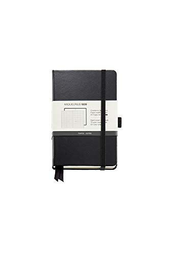 Miquelrius – Cuaderno bonito de notas, cubierta rígida símil resistente, cierre goma, tamaño 140 x 90 mm, 192 páginas de…