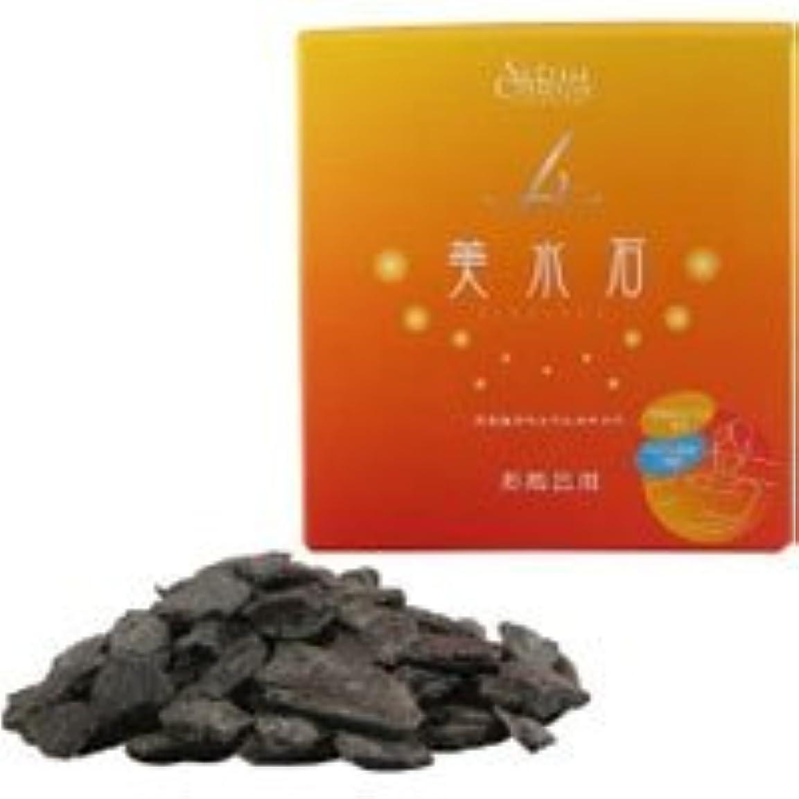 運命三十地下鉄美水石 美水石お風呂用 (専用ネット1枚) 1kg
