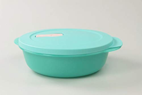 Tupperware 36820 - Microonde CrystalWave, 1 l, colore: Turchese chiaro