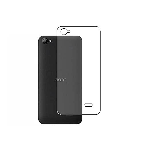 Vaxson 2 Stück Rückseite Schutzfolie, kompatibel mit Acer Liquid Z6E, Backcover Skin TPU Folie Haut [nicht Panzerglas Bildschirmschutzfolie Hülle Hülle ]