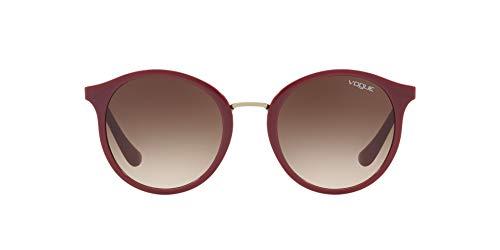 Vogue 0Vo5166S Gafas de sol, Dark Red, 51 para Mujer