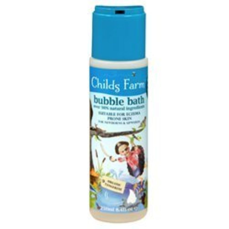 キャベツ配分アミューズChilds Farm Bubble bath for Buccaneers 250ml x 1 by Childs Farm [並行輸入品]