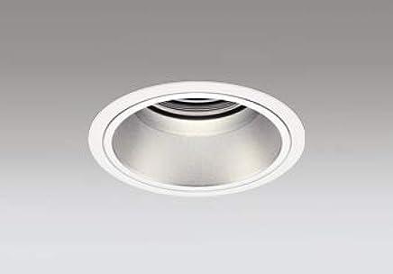 ODELIC LEDベースダウンライト グレアレス CDM-T70W相当 オフホワイト?銀色 55° 埋込穴Φ125mm 電球色 3000K M形 一般型 専用調光器対応 XD402426 (電源?調光器?信号線別売)