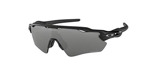Oakley Radar EV Path, OO9208 (52) Polished Black/Prizm Black 138mm, Sunglasses Bundle with original case, and accessories (5 items)