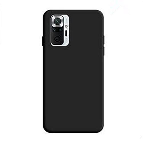 Redmi Note 10 Pro ケース 背面ケース ソフトケース ストラップホール Redmi Note 10 Pro カバーリングスタンド付 RN10P-RK-20401 (ブラック)