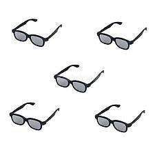 5x 3D Passive Glasses for Passive 3d Tvs, M