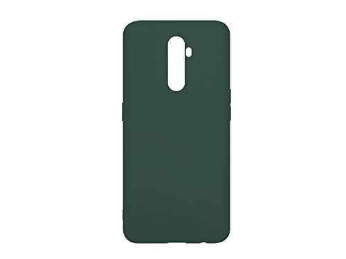 etuo Hülle für Realme X2 Pro - Hülle Soft Flex - Grün Handyhülle Schutzhülle Etui Hülle Cover Tasche für Handy