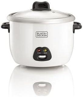Black+Decker Rice Cooker - RC1850-B5-SP, 1.8 litre