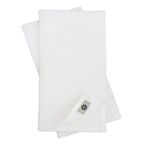 Linen & Cotton Nappe de Luxe AMELIA, 50% Lin, 50% Coton - Blanc (147 x 350cm)