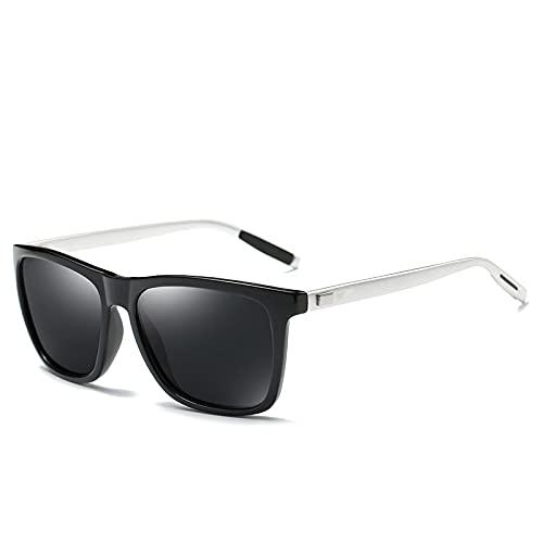 Gafas De Sol Polarizadas Lentes De Conducción Polarizadas Gafas De Sol Polarizadas De Aluminio Y Magnesio Gafas De Sol para Exteriores para Hombres Gafas De Protección UV Uv400