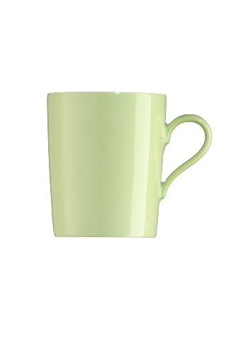 Arzberg Tric Grün Becher mit Henkel, Porzellan, Green, 28.1 x 20.4 x 10.9 cm