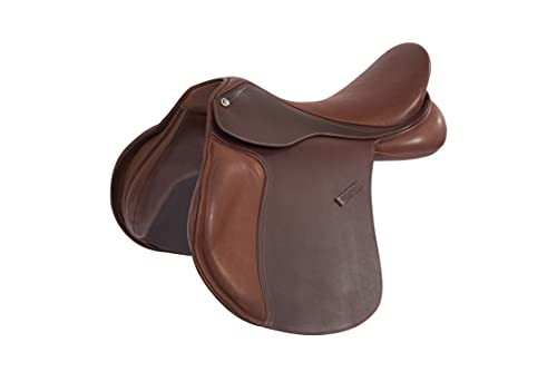 Collegiate Scholar All Purpose Saddle with Round Cantle - 16 / Brown