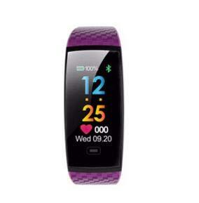 Wallfire Herzfrequenz-/Blutsauerstoff-Monitor, Farbbildschirm, Smartwatch, Armband 2018