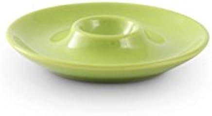 Preisvergleich für Friesland Porzellan Eierbecher/Eierteller 13cm Happymix ?Limette