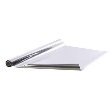 metallisierte Deko-Folie glänzend silber