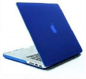 Robbin Blue Frost Matte Surface Rubberized Hard Shell Case Cover for MacBook Pro Retina 13 Inch