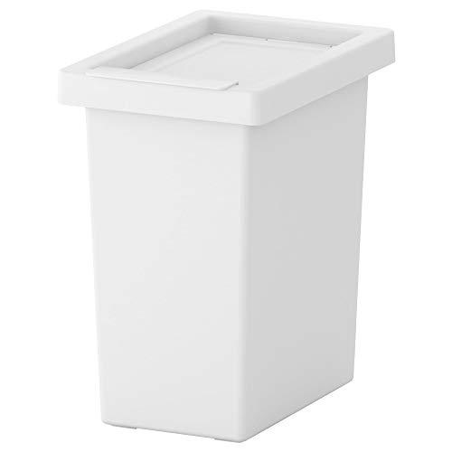 IKEA(イケア) FILUR 10 l 00188337 ふた付き容器、ホワイトの写真