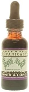 Whole World Botanicals - Royal Peruvian Liver & Lung Liquid - Botanicals Herbs