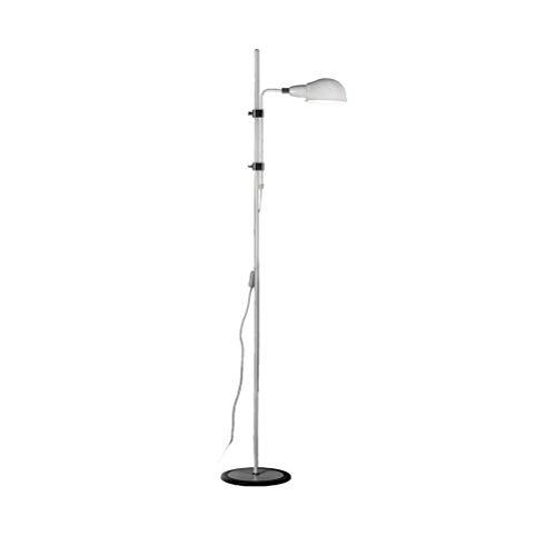 CLJ-LJ E27 Nordic creativo ajustable lectura del trabajo del hierro Lámpara de suelo interiores contemporáneos blanco de la lámpara 0706P