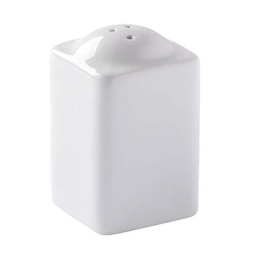 VEGA 10012897 Salzstreuer Edea, 4x6.8x4 cm (BxHxT), weiß, 6 Stück