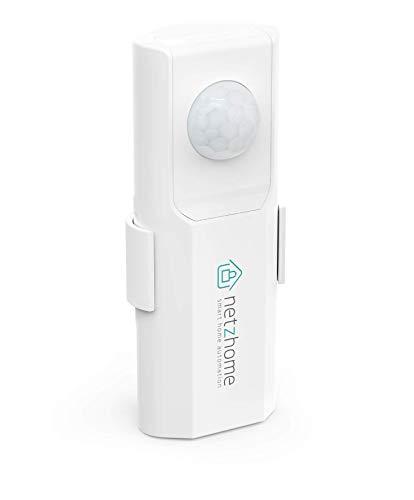 NetzHome - Sensor de Movimiento WiFi - Detecta Movimiento y Envía Alertas- Inalambrico - Compatible con iOS y Android - Monitorea tu Casa desde tu Celular - Aplicación Gratuita -...