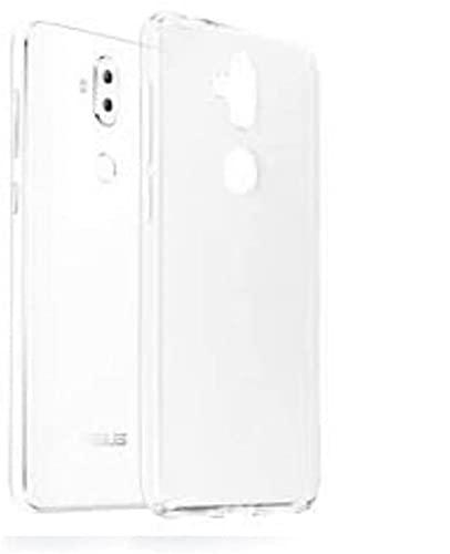 compatibile Funda para Asus Zenfone 3 Max ZC520TL X008D 5.2 ultra soft slim gel silicona TPU protección blanda + película de cristal templado antiarañazos antigolpes (transparente)
