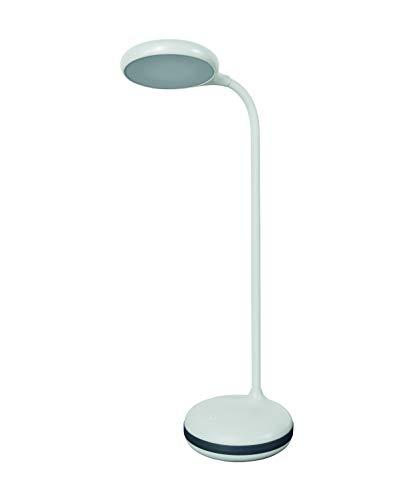 LEDVANCE LED Schreibtisch-Leuchte, Leuchte für Innenanwendungen, Warmweiß, Dimmbar per Touch-Schalter, Panan Puck